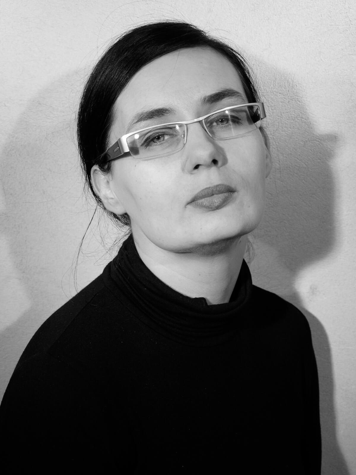 Na zdjęciu Ida Bocian. Zdjęcie portretowe.