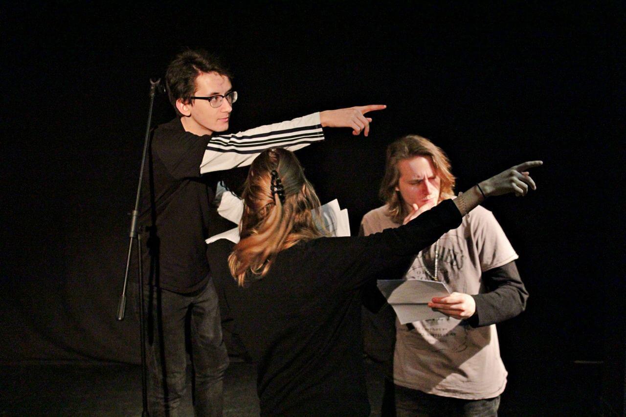 Zdjęcie z projektu Teatr Młodych.